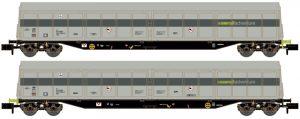 Schiebewandwagen-Set 2-tlg. - RailAdventure