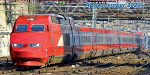 TGV Thalys PBA 10-tlg. - neues Design