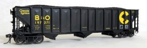 PS 4000 100t Triple Coal Hopper H0