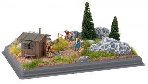 "Mini-Diorama ""Gebirge"""