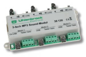 MP3 Sound-Modul 3-fach