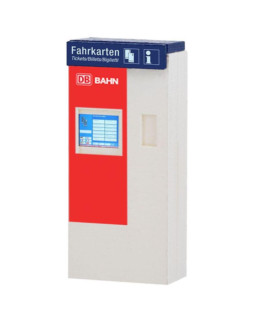 DB Fahrkartenautomat mit Beleuchtung
