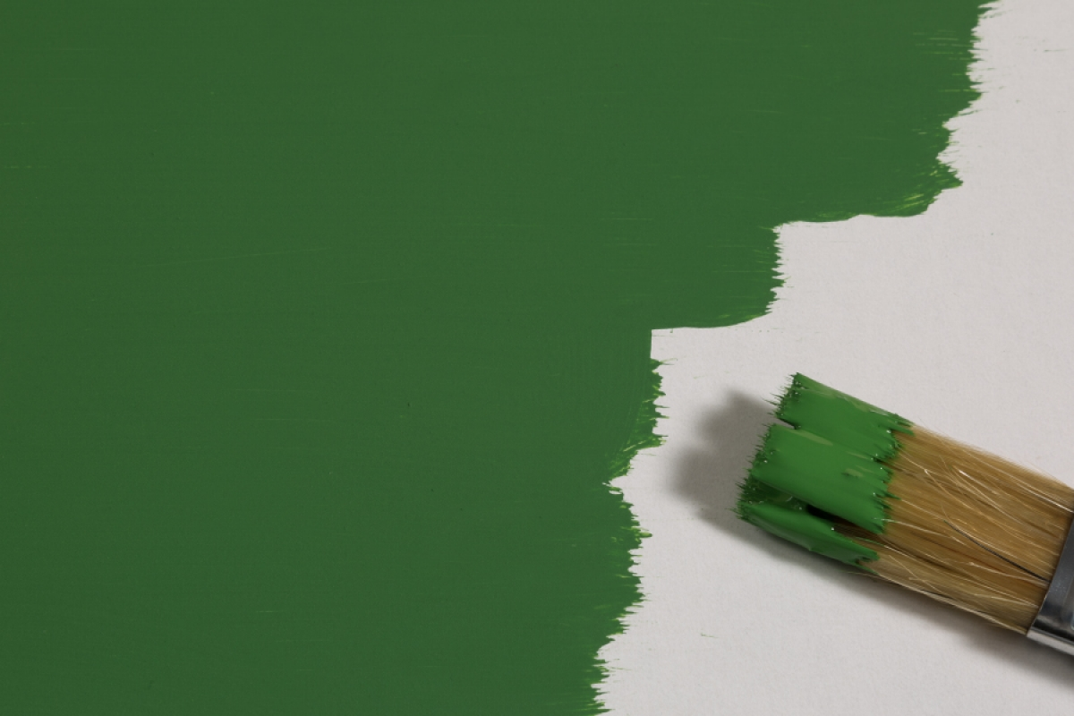 Modellbaufarbe Grasgruen