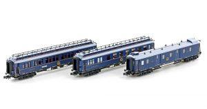 "Personenwagen-Set 3-tlg. - CIWL ""Simplon Orient Express"""