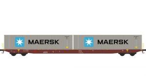 Containertragwagen - Metrans / Maersk