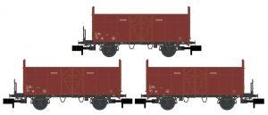 3er Set Holzwagen - SBB ohne Logo