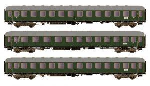 Schnellzugwagen-Set 3-tlg. - DB