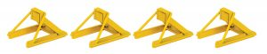 Assembled Track Bumper (yellow)