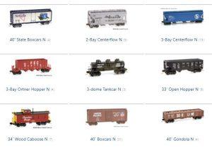 MTL Freight Cars N