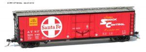 50` Reefer Boxcar H0